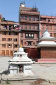 White stupas — Stock Photo