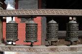 Bronzen drums — Stockfoto