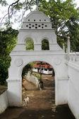 Bílá brána — Stock fotografie