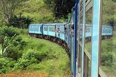 Train bleu — Photo