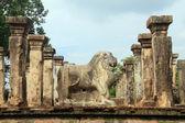 Kamenný lev — Stock fotografie