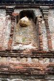 Nest on the shrine — Stock Photo