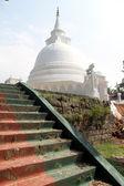 Staircase an d stupa — Stock Photo