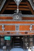 Batak house — Stock Photo