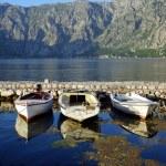 Boats near pier — Stock Photo #49656699