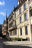 Castle-palace of the Grand Duke, Luxembourg — Stock Photo
