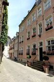 Old street in Luxembourg — Stock Photo