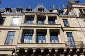 Zamek pałac wielkiego księcia, luksemburg — Zdjęcie stockowe