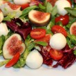 Stock Photo: Mozzarella salad
