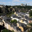 The view over Luxembourg — Stock Photo