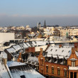 Wiesbaden in winter - Stock Photo