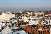 Wiesbaden in winter — Stock Photo
