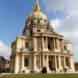 Tourists visiting Les Invalides, Paris — Stock Photo