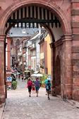 Visiting Heidelberg — Stock Photo
