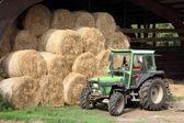 A small farm tractor — Stockfoto