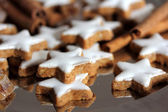 Christmas cookies - stars — Stock Photo