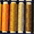 Stok fotoğraf: Multicolored sewing threads