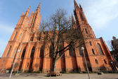 Marktchurch in Wiesbaden — Stock Photo