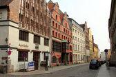 Old street in Stralsund — Stock Photo