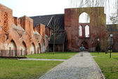 St.John Abbey (JohannisKloster) in Stralsund — Stock Photo