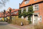 Historic houses in Stralsund — Stock Photo