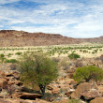 Twyfelfontein in Namibia, Africa — Stock Photo #12353466