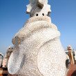 Royalty-Free Stock Photo: Gaudi Chimneys at Casa Mila