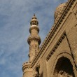 View of Al-Azhar University and mosque in central part of Cairo city, Egypt — Stock Photo