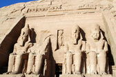 Abu Simbel temple in Egypt — Stock Photo