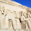 Temple of King Ramses II in Abu Simbel, Egypt — Stock Photo
