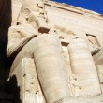 Temple of King Ramses II in Abu Simbel, Egypt — Stock Photo #12385623
