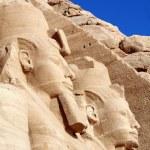 Temple of King Ramses II in Abu Simbel, Egypt — Stock Photo #12385627