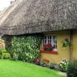 Adare Cottage Shop in Ireland. — Stock Photo