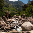Foto de Stock  : Drakensberg mountains