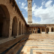 The great mosque in Alepo - Stock Photo