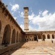 Stock Photo: Great mosque in Alepo