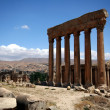 Stock Photo: Balbek tempel in Lebanon