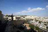 Old city of Jerusalem, Israel. — Stock Photo