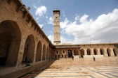 The great mosque in Alepo — Stockfoto
