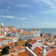 Stock Photo: Beautiful view of Lisbon old city, Portugal