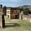 Stock Photo: Castle in Gondar, Ethiopia