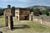 Castle in Gondar, Ethiopia — Stock Photo