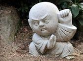 Happy kid statue, Japan — Stock Photo