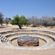 Stock Photo: Hoba meteorite