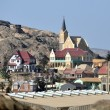 Stock Photo: View of Luderitz in Namibia