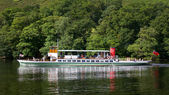 Ullswater Steamer — Stock Photo