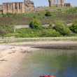 Tynemouth Kayakers - Stock Photo