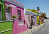 Bo Kaap Cottages — Stock Photo