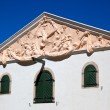 Stock Photo: Wine Cellar Pediment