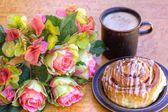 Caffè e pasticceria danese — Foto Stock